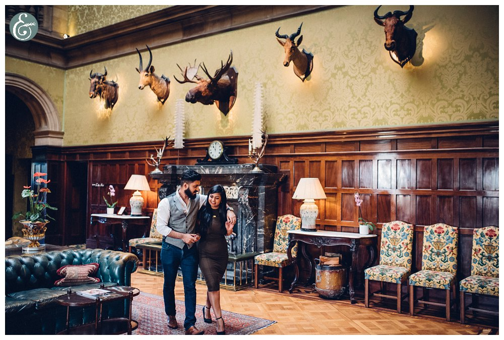 Stapleford Park Engagement shoot