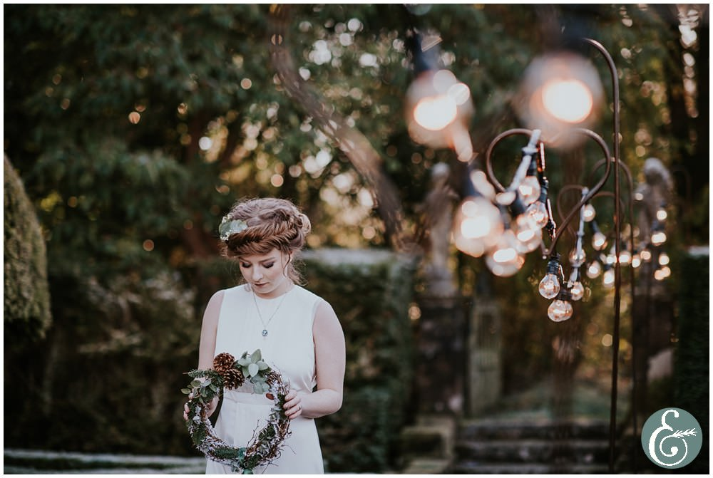 winter wedding styled shoot