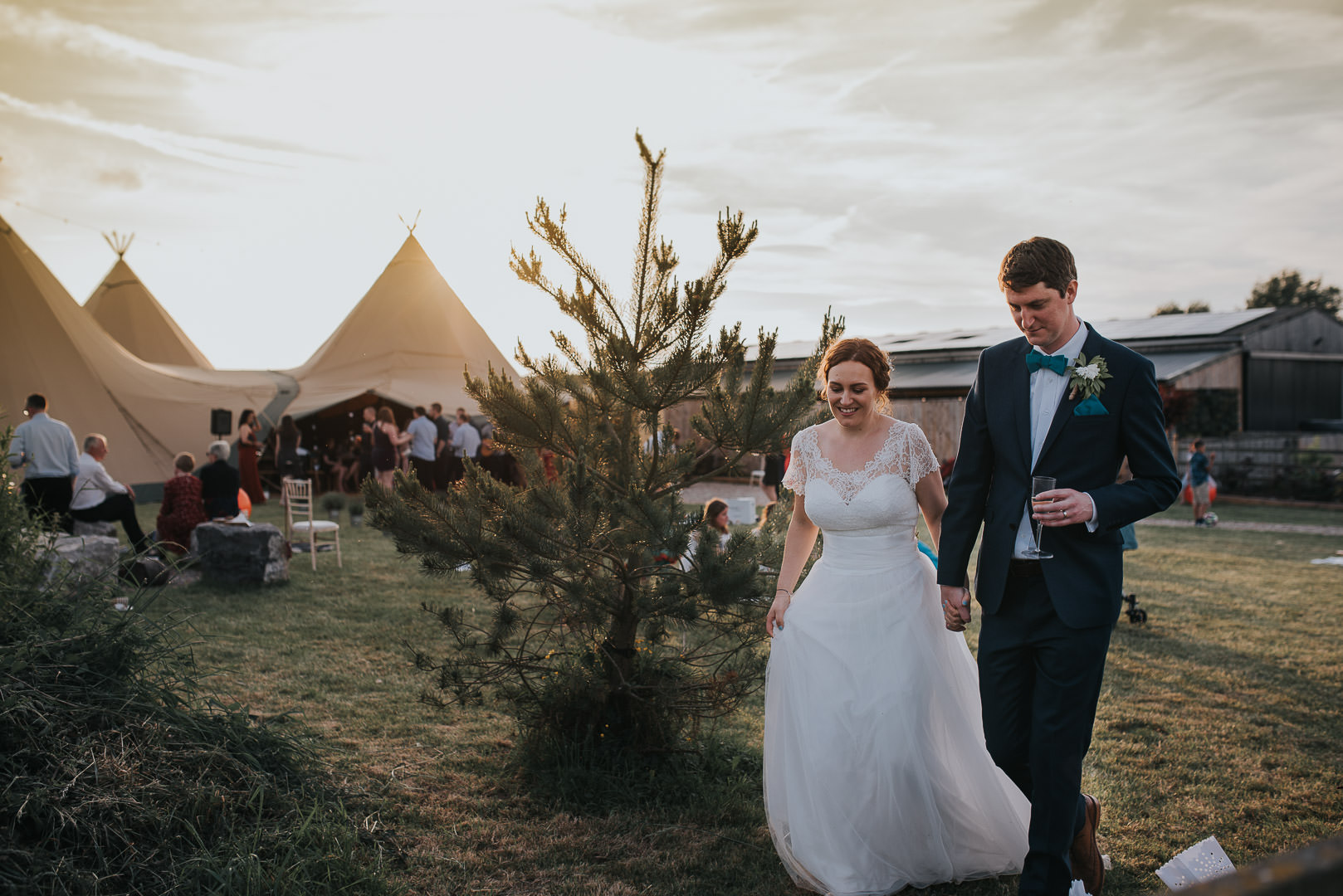 Inkersall Grange Farm wedding